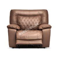 Итальянское кожаное кресло-реклайнер 1015