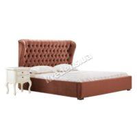 Мягкая двуспальная кровать с подъемным механизмом 3031