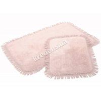 Набор ковриков для ванны Irya - Axis pembe розовый 4408