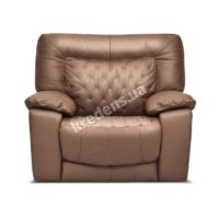 Итальянское кожаное кресло 1012