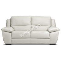 Угловой кожаный польский диван 1096