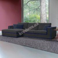 Итальянский тканевый угловой диван 4299