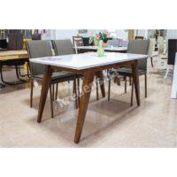 Стол со стеклянной столешницей 3484