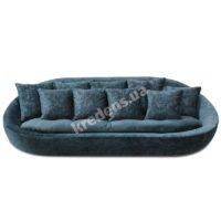 Декоративный тканевый диван 2973