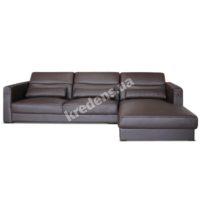 Угловой кожаный диван 3630