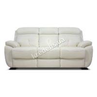 Польский кожаный раскладной диван 1093