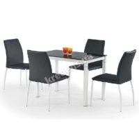 Стеклянный обеденный стол 0992
