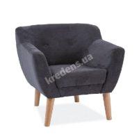 Польское тканевое кресло 0849