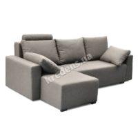 Угловой тканевый диван 4012