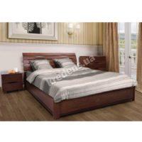 Двуспальная кровать из дерева 2221