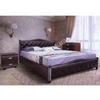 Двуспальная кровать из натурального дерева 2222