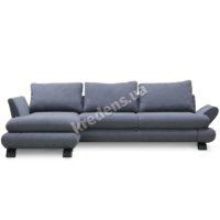 Тканевый угловой раскладной диван 4772
