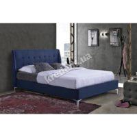 Двуспальная кровать с мягким изголовьем 5024