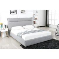 Двуспальная кровать с мягким изголовьем 5027