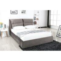 Двуспальная кровать с мягким изголовьем 5029