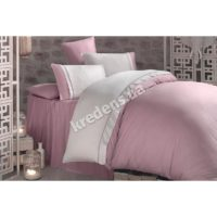 Комплект постельного белья Clasy Butik Kharma - Pembe V3 сатин евро 3378