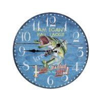 Часы настенные МДФ Fish 34см 2418