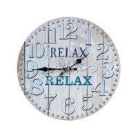 Часы настенные МДФ Relax 34см 2421