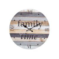 Часы настенные МДФ Family Time 34см 4995