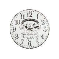 Часы настенные металлические Tea 40см 4998