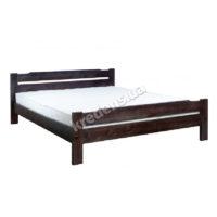 Двуспальная кровать из натурального дерева 5034