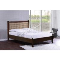 Двуспальная кровать из натурального дерева 6110