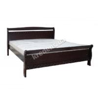 Двуспальная кровать из натурального дерева 6111