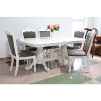 Раскладной классический обеденный стол 5263