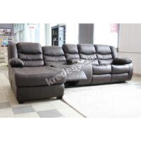 Угловой кожаный диван 6285