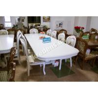 Раскладной классический обеденный стол 6488